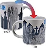 Doctor Who - Weeping Angel Heat Changing Coffee Mug - Add Hot Liquid and Watch the Stone Angels Come to Life - Comes in a Fun Gift Box - by The Unemployed Philosophers Guild
