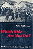 Which Side Are You On?, John W. Hevener, 0252002709