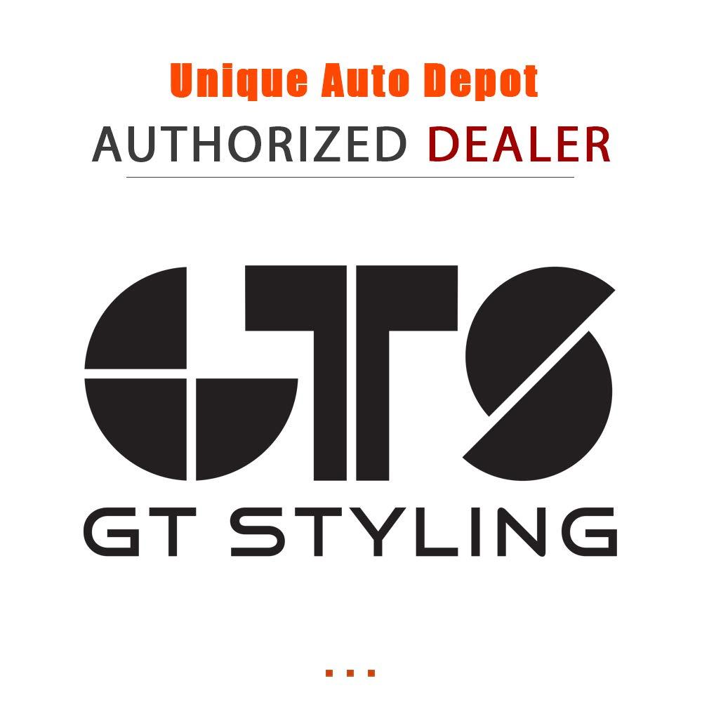 GT Styling 51177 Solarwing Rear Window Deflector Smoke 1 pc. Solarwing Rear Window Deflector