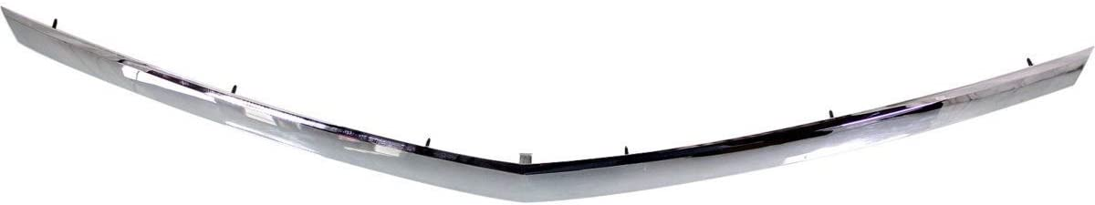 New Front Hood Molding For 2010-2016 Cadillac Srx Made Of Plastic GM1235120 22774203