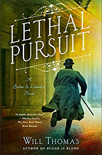 Book Cover: Lethal Pursuit: A Barker & Llewelyn Novel