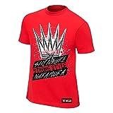 WWE Shinsuke Nakamura King of Strong Style Youth Authentic T-Shirt Red Large