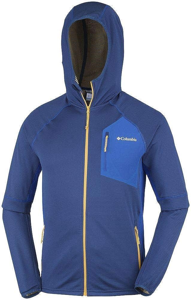 Triple Canyon Hooded Fleece Polyester Columbia Fleecejacke mit durchgehendem Rei/ßverschluss f/ür Herren
