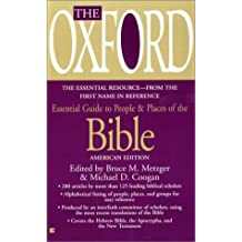 The Oxford Essential Guide to People & Places of the Bible