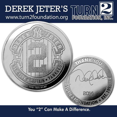 Highland Mint Coins (DEREK JETER COIN #1 NY YANKEES FINAL SEASON CAPTAIN #2