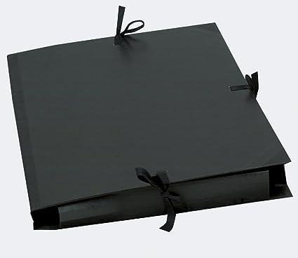 Exacompta 25938E - Carpeta (Conventional file folder, Caja de cartón, Negro, Raisin (500x650), 1292 g/m², 520 mm): Amazon.es: Oficina y papelería