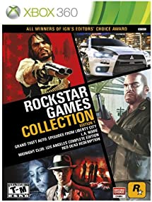 Amazoncom Rockstar Games Collection Edition 1 Xbox 360 Video Games