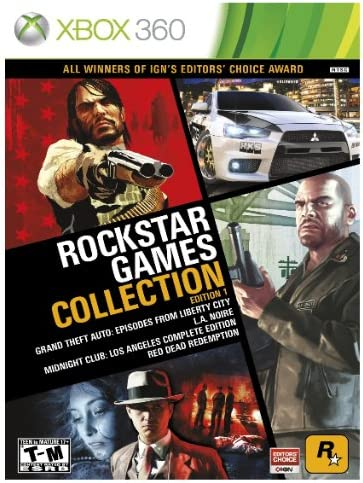 Take-Two Interactive Rockstar Games Collection Edition 1, Xbox360 ...