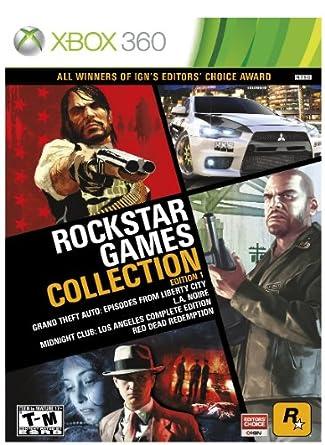 Amazon Com Rockstar Games Collection Edition 1 Video Games
