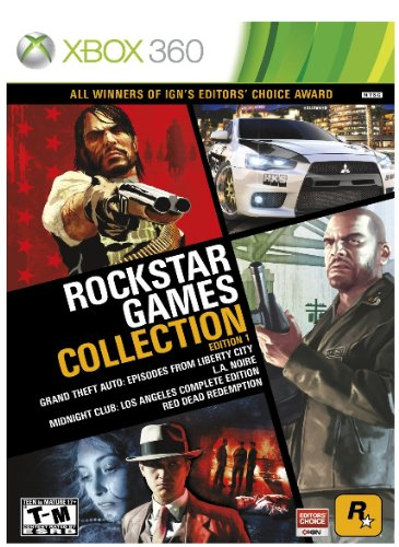 Rockstar Games Collection Edition 1 (Grand Theft Auto Complete Edition Xbox 360)
