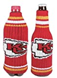 Best Chief Bottle Coozies - NFL Football Krazy Kover Strecthable Can Bottle Drink Review