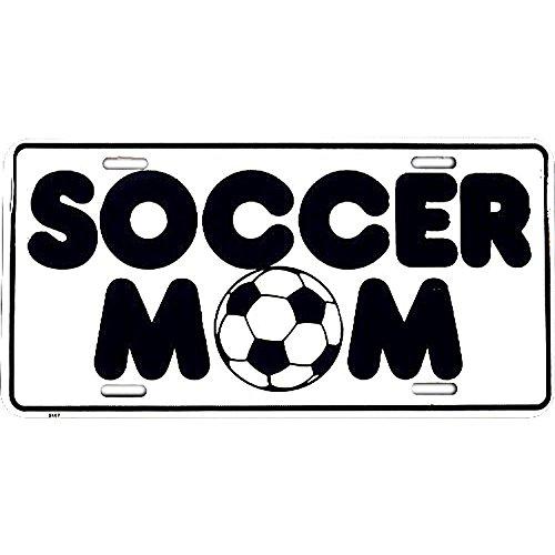 Signs 4 Fun SL2467 Soccer Mom License Plate
