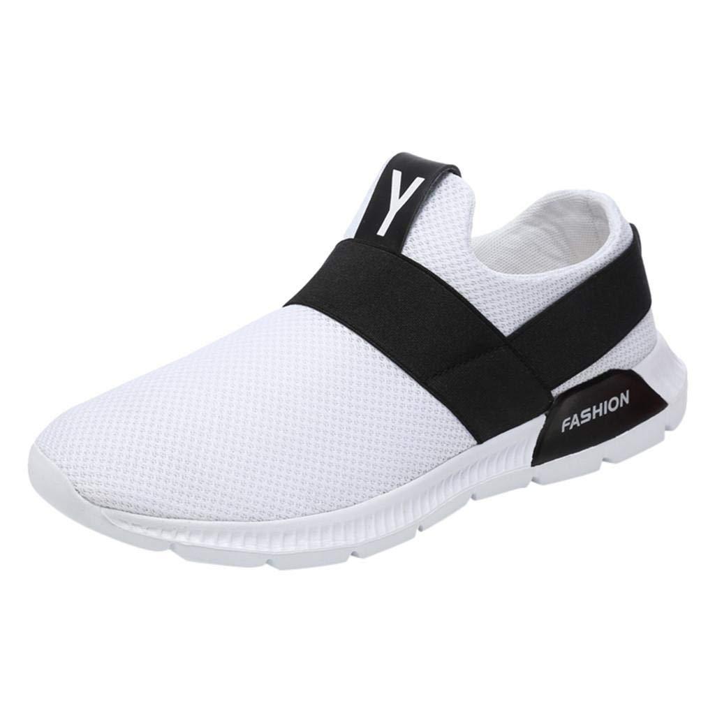 QUICKLYLY Zapatillas Hombres/Mujer Deporte Running Zapatos Correr Gimnasio Sneakers Padel Casual Deportivos Gimnasia Seguridad Puntera Trabajo Calzado Aire Libre Deportiva,39-46CN: Amazon.es: Zapatos y complementos