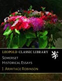 img - for Somerset Historical Essays book / textbook / text book
