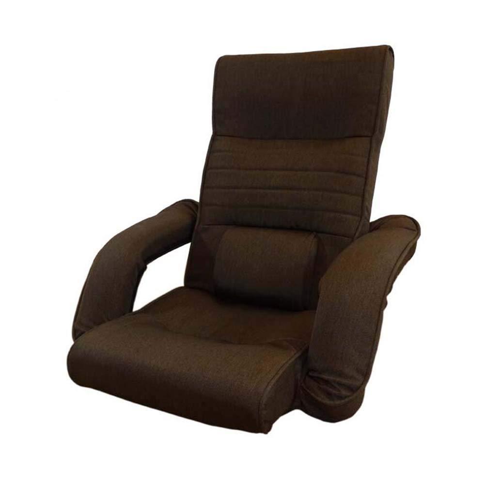 Canapé paresseux Chaise de Plancher Super Confortable réglable avec Support de Dossier, canapé Pliant Relaxant pour Salon Chambre