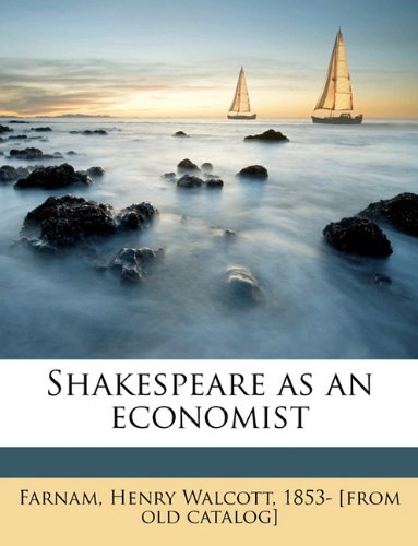 Shakespeare as an economist ebook