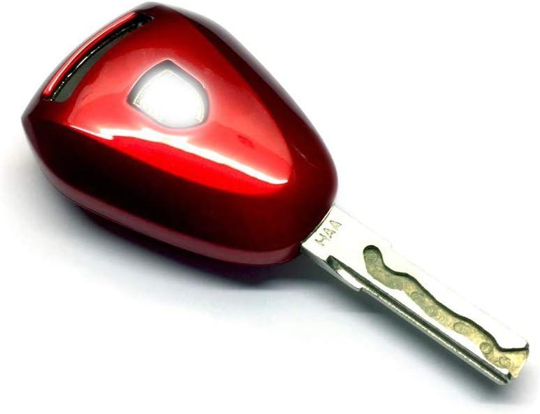 Carbon Fiber Haneex Remote Key Cover for Porsche 987 997 Facelift Black Head Remote Key Case