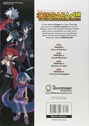 Image of DISGAEArt!!! Disgaea Official Illustration Collection