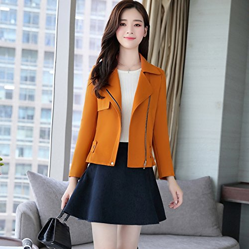 And Coats Look Fresh Jackets Replace Small Jackets Women'S Gold SCOATWWH amp; Female Jacket Stylish Women'S wZxUgcTq