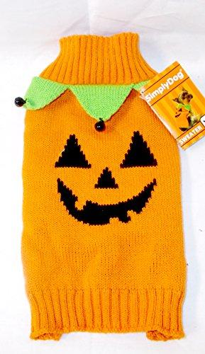 n Pumpkin Sweater Jester Collar Jingle Bells XS 12-14' NWT (Jingle Bells Party Collar)