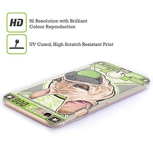 Head Case Designs Bulldog Francese Showcards Animali Cover Retro Rigida per Apple iPhone 7 Plus / 8 Plus