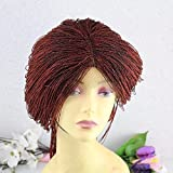 Braided Wig For Black Women Micro Twist Lace Front Braided Wig