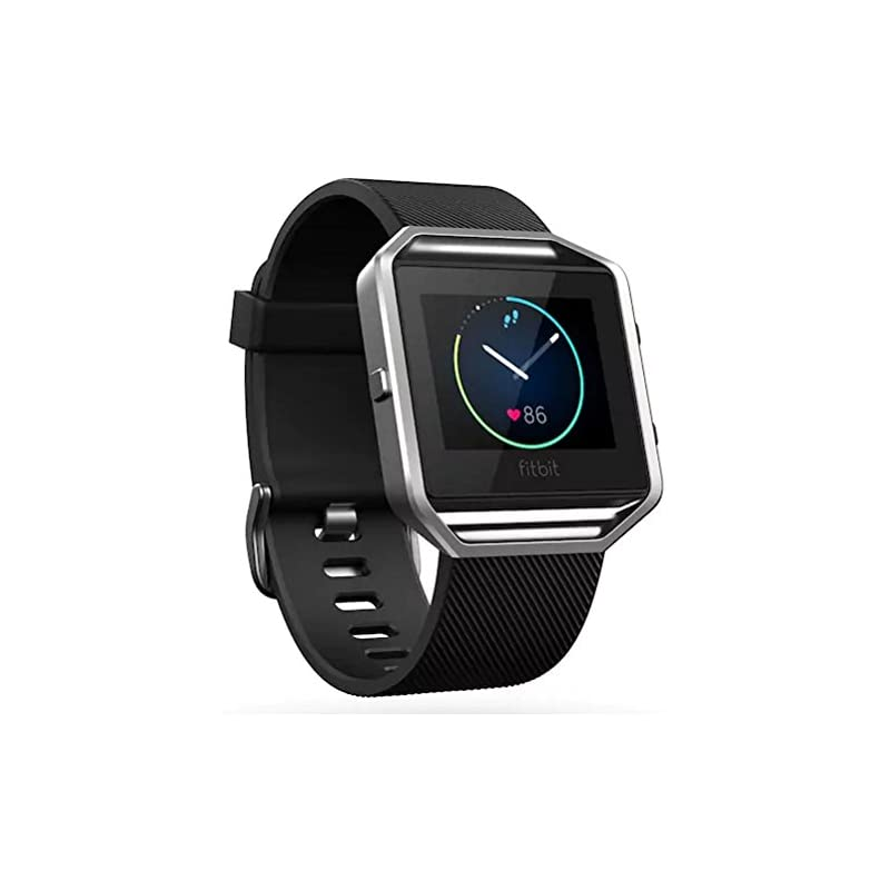 Fitbit Blaze Smart Fitness Watch Black L