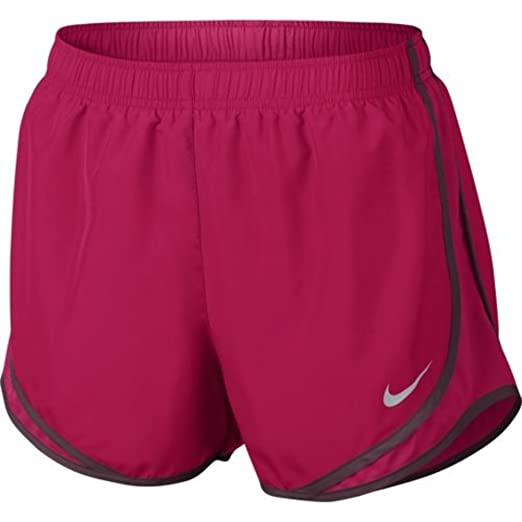 NIKE Women s Dry Tempo Shorts Pink-Dk Pink Med at Amazon Women s ... 2242938b7