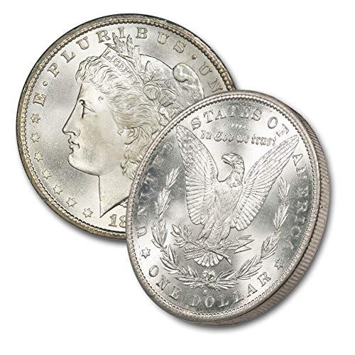 1879 S Morgan Silver Dollar $1 Brilliant Uncirculated