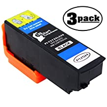 3-Pack Replacement Epson Expression Premium XP-810 Small-in-One Printer Black Ink Cartridge - Compatible Epson T273XL020 Black Ink Tank (Epson 273XL)