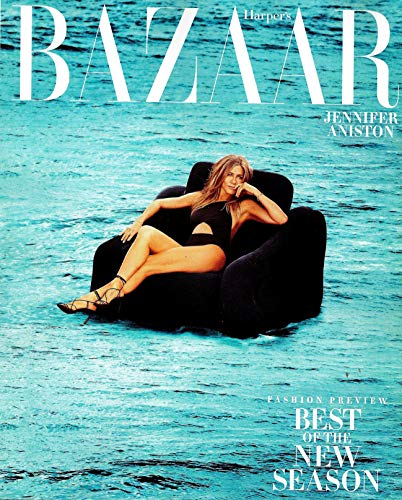 Harper's BAZAAR Magazine June July 2019 JENNIFER ANISTON Cover, FASHION PREVIEW BEST OF THE NEW SEASON (Best Fashion Magazine Covers)