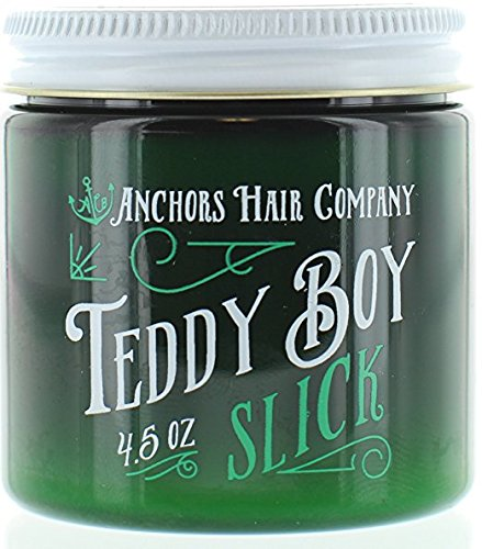 Anchors Hair Company Teddy Boy Slick Oil Based Classic Pomade (4.5 Ounce)