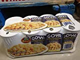 Goya chick peas garbanzos 8 pk. (pack of 6)