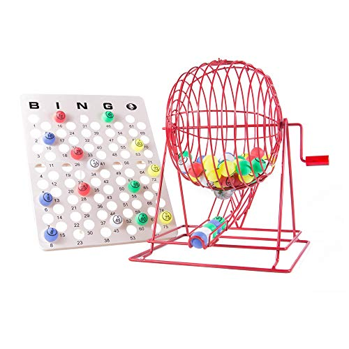 (MR CHIPS Professional Bingo Cage (19