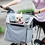 Pet Carrier Bicycle Basket Bag Pet Carrier/Booster Backpack for Dogs and Cats