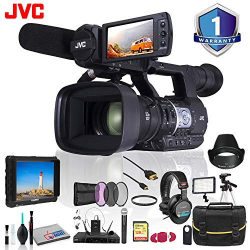 (JVC GY-HM620 ProHD Mobile News Camera +Accessories )