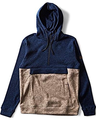 Billabong Men's Boundary Pullover Hoodie Navy Large ()