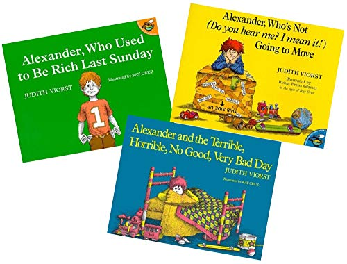 Alexander 3-Book Set: Alexander and the Terrible, Horrible, No Good, Very Bad Day; Alexander Who's N (Alexander And The Horrible Very Bad Day)