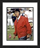 "NCAA Ohio State Buckeyes Woody Hayes, Beautifully Framed and Double Matted, 18"" x 22"" Sports Photograph"