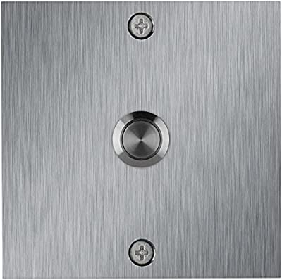 Waterwood Square Stainless Steel Doorbell