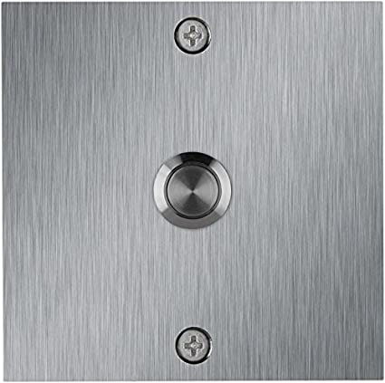 Amazing Waterwood Square Stainless Steel Doorbell