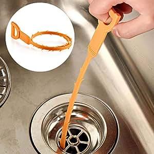 AOLVO Desagüe de desagüe para desagüe y desagüe, 20 Pulgadas, Herramienta para el Lavabo, el baño, la Cocina y Todos los fregaderos