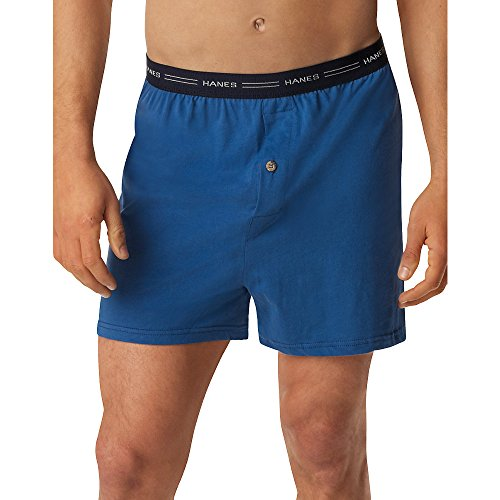 hanes-mens-tagless-comfortsoft-knit-boxer-with-comfort-flex-waistband-5-pack-5