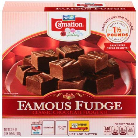 Carnation Famous Fudge Kit, 31.1 Ounce Kit (3 Pack) by Carnation