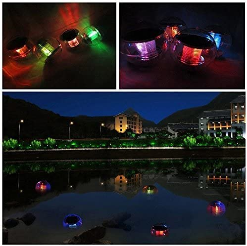16 RGB-Farb/änderung Schwimmende Pool Beleuchtung Wasserdicht IP68 Au/ßenleuchte Gartenlampe f/ür Pool Beach Hochzeit StillCool Poollicht LED Licht Patio dekorative Nachtlicht
