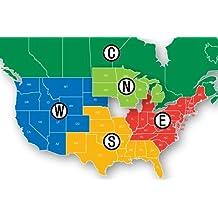 Navionics HotMaps Platinum South U.S. Multi-Dimensional Lake Maps on SD Card