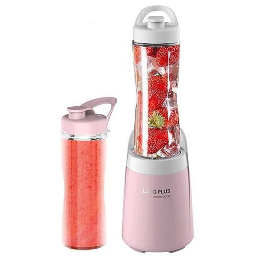 CHUANGE licuadora de frutas licuadora exprimidora portátil rosa ...