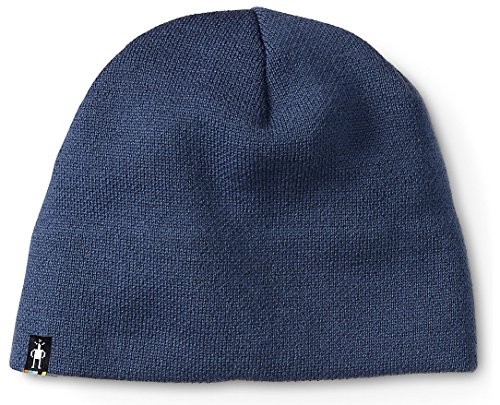 SmartWool Men's The Lid (Dark Blue Steel) One (Hat Cap Lid)