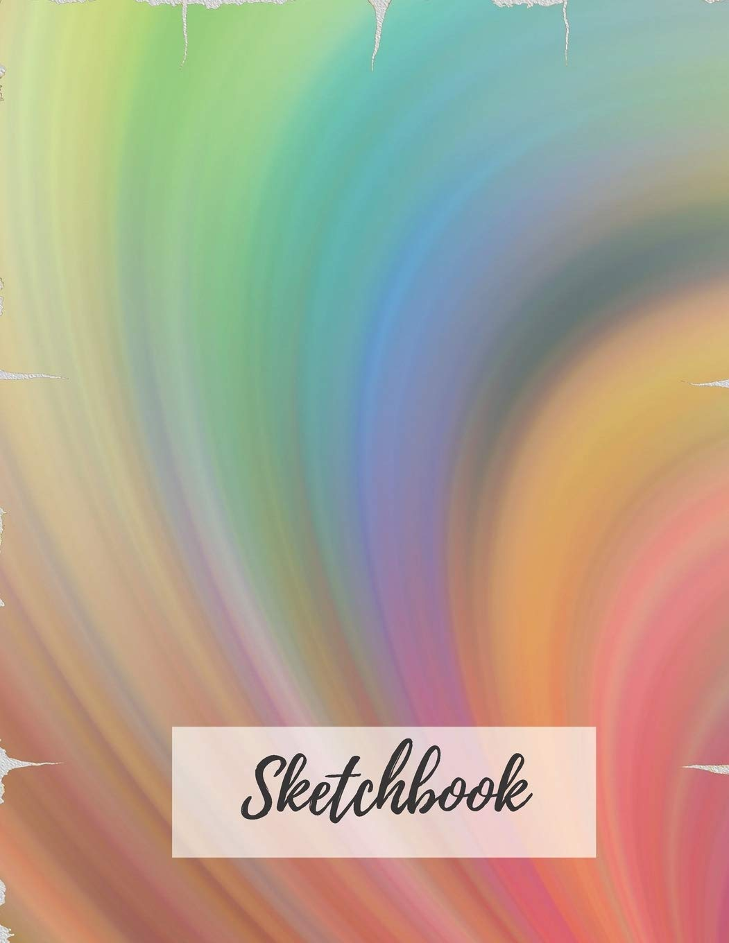 Buy Sketchbook Blank Large 110 Pages 8 5 X 11 In Colorful Rainbow Sketch Book For Drawing Or Sketching Rainbow Sketchbook To Draw And Journal Book Online At Low Prices In India