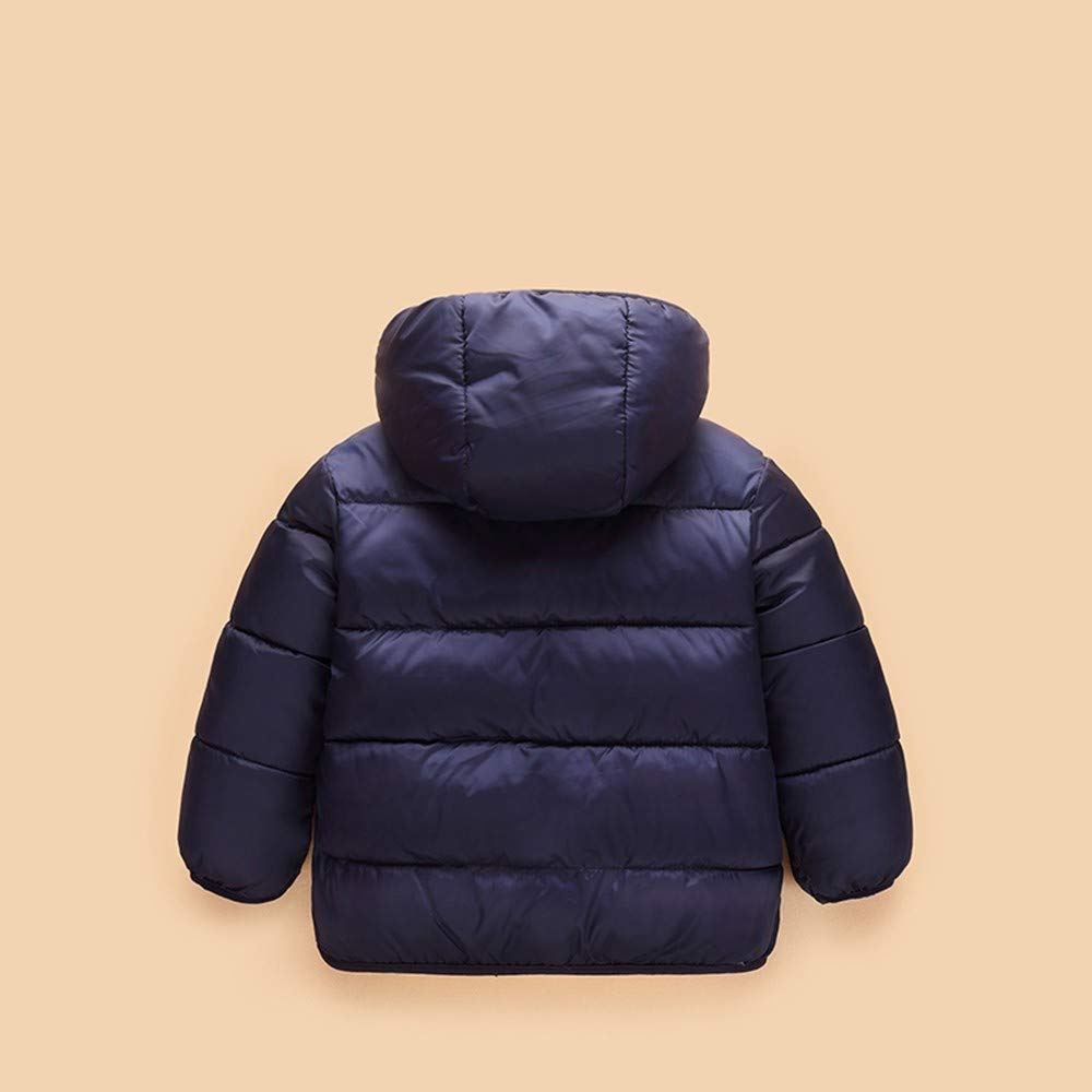 XUANOU Kids Baby Girl Boys Winter Hooded Coat Cloak Jacket Thick Warm Outerwear